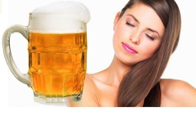 Пиво для волос: применение от выпадения и для роста