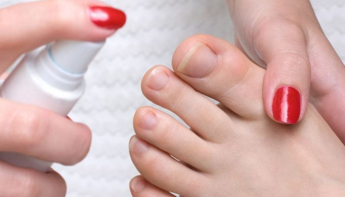 Спрей, крем и мазь от потливости ног