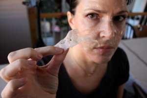 Снятие желатиновой маски