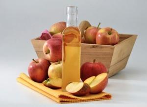 Яблочный уксус содержит много витаминов и минералов