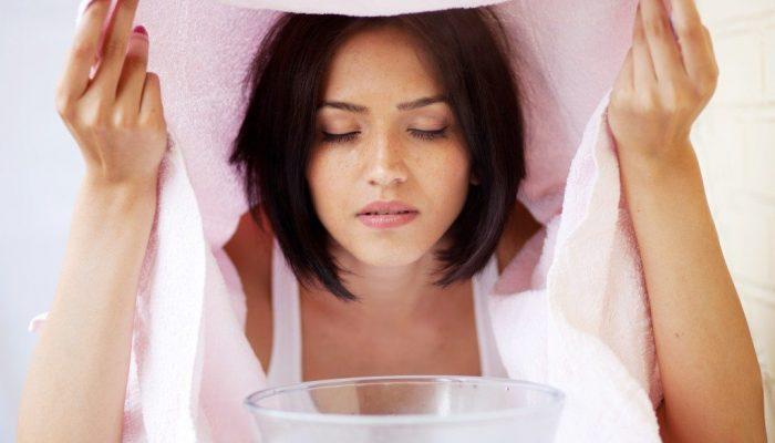 Паровые ванночки для очищения пор на лице