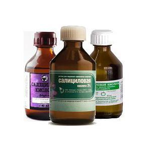 противопоказания и побочные эффекты салициловой кислоты