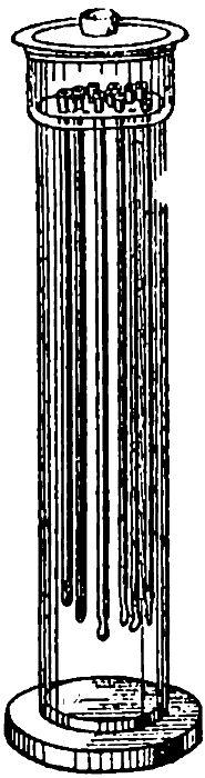 Сосуд для хранения катетеров