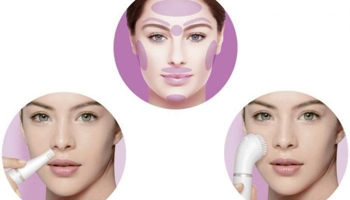 Электрическая щетка для лица Браун (Braun face se832) с функцией очищения и эпиляции
