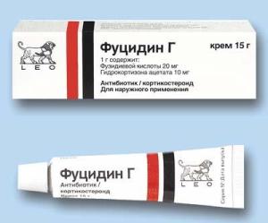 антибиотик Фуцидин для борьбы с прыщами