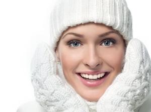 Ухаживаем за жирной кожей лица зимой