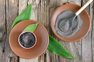 Маска с Активированным углем и глиной