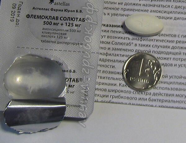 флемоклав - инструкция по применению