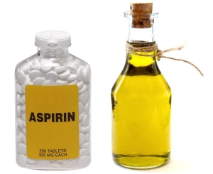 Оливковая маска с аспирином