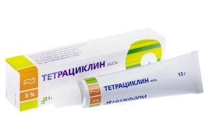 преимущества и недостатки тетрациклиновой мази