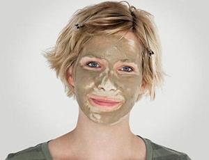 Использование масок из косметической глины
