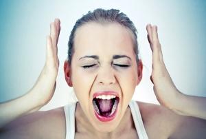 стрессы как причина появления прыщей