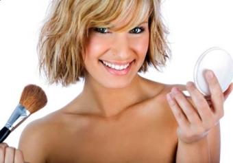 выбор минеральной пудры для проблемной кожи