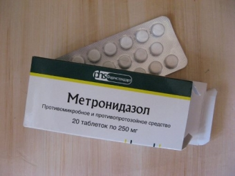 Метронидазол от прыщей: инструкция по применению