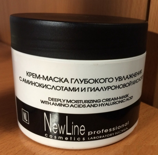 Deeply moisturizing cream-mask от New Line