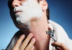 угри после бритья