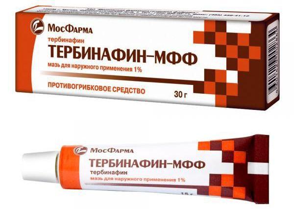 Мазь Тербинафин от грибка ногтей