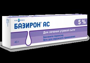 Базирон АС от демодекса