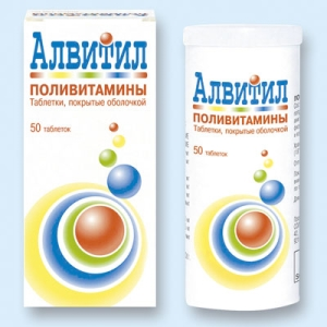 препараты Пентовит, Алвитил или Веторон