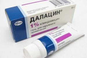 Гель клиндамицина 1% — антибиотик для наружного применения