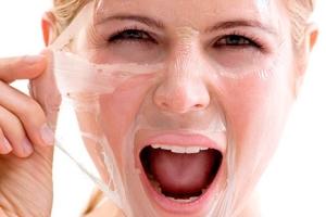 Желатиновая маска с белком