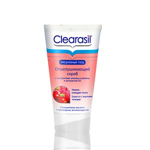 Скраб Клерасил с витаминами для чувствительной кожи