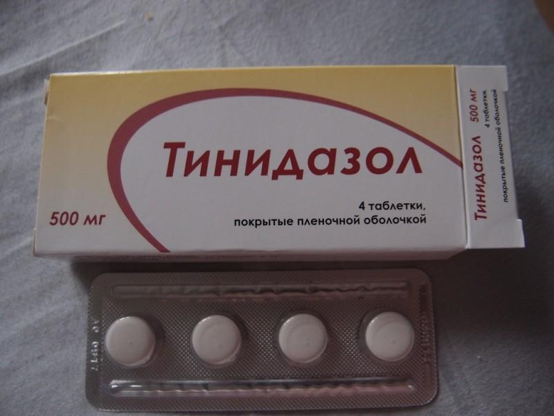 тинидазол: инструкция по применению для мужчин