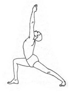 Йога при артрите: поза вирабхадрасана