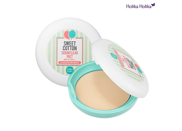 Sweet Cotton Sebum Clear Pact от HOLIKA HOLIKA