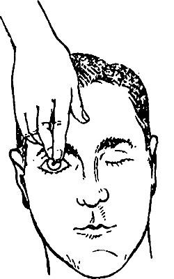 Проверка роговичного рефлекса