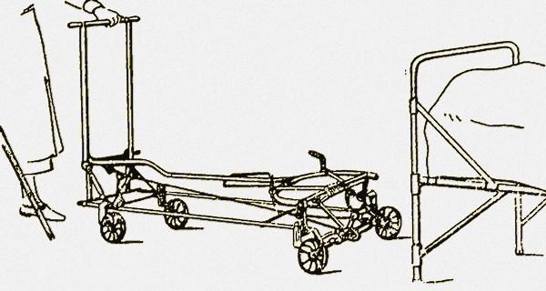 Фото тележки для транспортировки больного