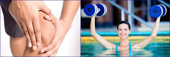 Плавание для профилактики артрита