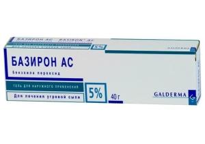 особенности препарата Базирон АС