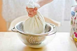 Приготовление сыворотки из молока