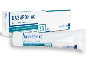 Отзывы потребителей о препарате Базирон АС