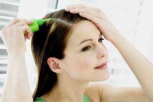 Смывка краски без вреда для волос
