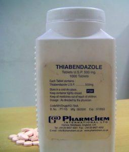 Тиабендазол - препарат для лечения стронгилоидоза