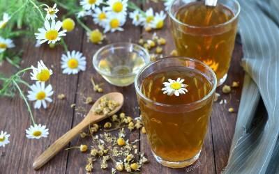 Ромашковый чай при цистите