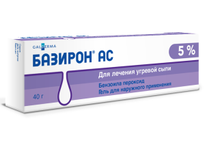 лечение акне Базироном АС