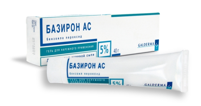 Эффективные аптечные кремы: Базирон АС