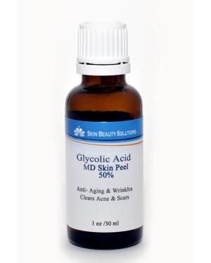 Лечение гликолевой кислотой и антибиотиками